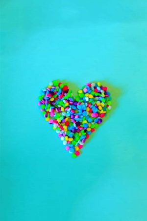 Colorful Heart Love