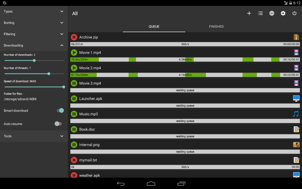 best download managers for android 2017 fastest android crush