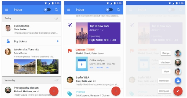 Inbox by Google - Great Newton Mail Alternatives