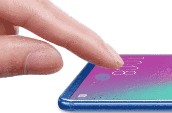 Huawei Honor 10 in-display fingerprint sensing