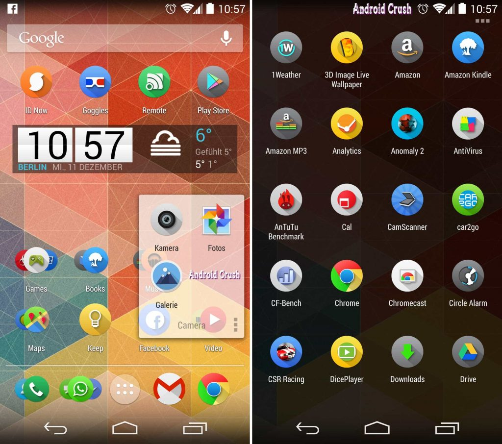 Nova launcher android apps