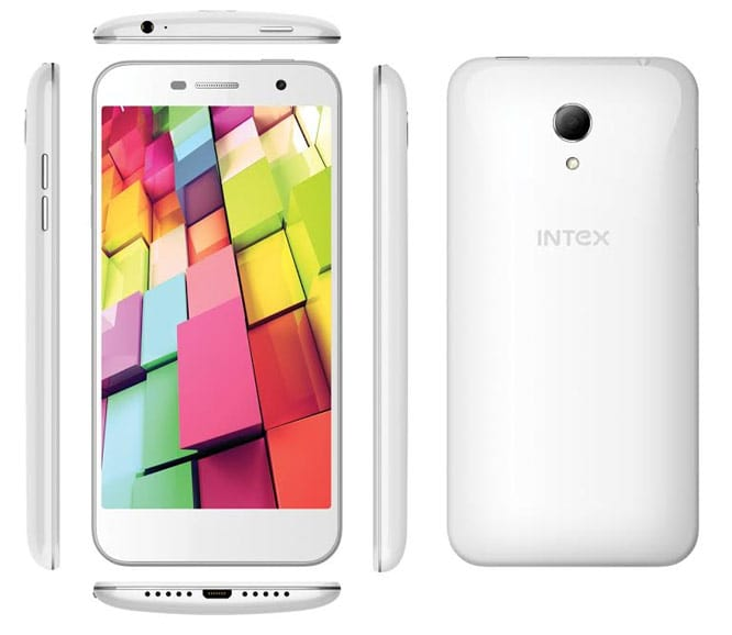 Intex Aqau 4G+ Mobile phone