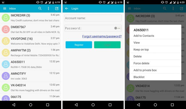 how to get mms text over wifi android