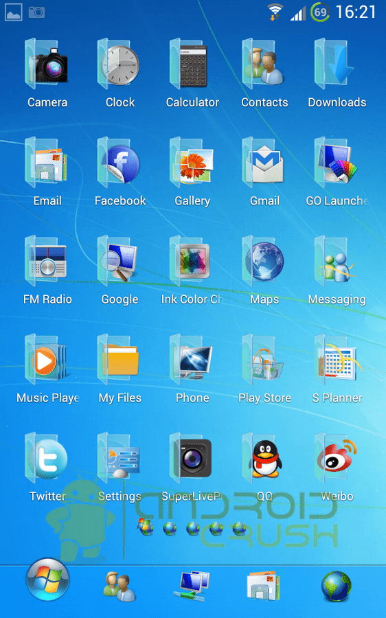 Iphone Launcher App