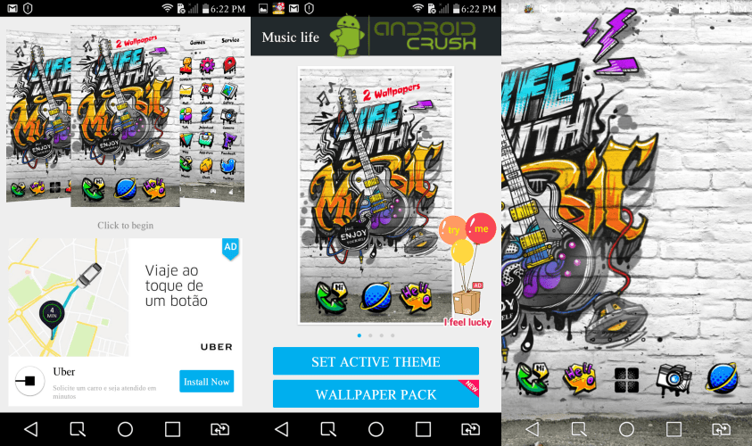 Go launcher themes