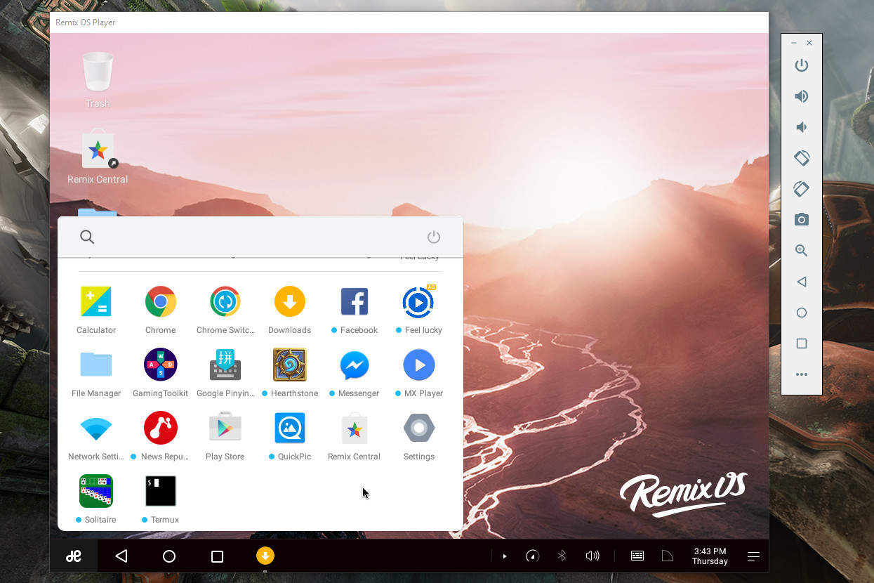 1gb ram android emulator - Remix Os Player For Windows Pc